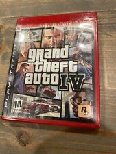 Grand Theft Auto IV (PS3, 2008). Greatest Hits. Complete.