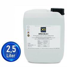 DMSO PUR  2500ml Dimethylsulfoxid 99,9% Reinheit (Ph.Eur), HDPE Kanister