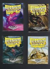 (5) Dragon Shield Matte Protective Sleeves Boxes Magic MTG You Pick The Color