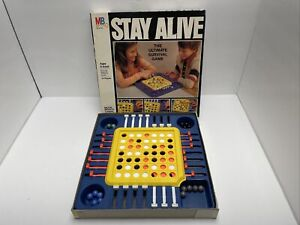 1978 Milton Bradley Stay Alive game complete Good Condition