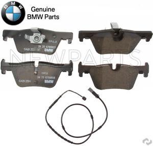 For BMW F22 F30 F32 F33 F34 228i 328i Rear Brake Pad Set w/ Sensor Genuine