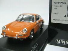 WOW EXTREMELY RARE Porsche 911 1964 Coupe Orange 1:43 Minichamps-356-930-Spark