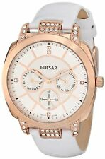Pulsar Analog Display Japanese Quartz White Women's Watch PP6134