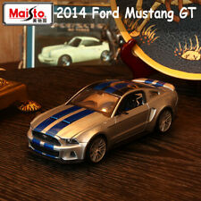 Scale 1:24 Maisto Ford MUSTANG GT 2014 Alloy Sports Car Model Diecast Toys Gift