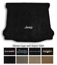 Jeep Wrangler Velourtex Carpet Cargo Floor Mat - Choose Color & Logo