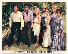 THE FASTEST GUITAR ALIVE ORIGINAL LOBBY CARD ROY ORBISON MAGGIE PEARCE