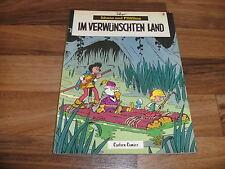 JOHANN & PFIFFIKUS  # 3 -- im VERWÜNSCHTEN LAND // Peyo Carlsen 1. Auflage 1980