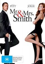 Mr & Mrs Smith (DVD, 2006) Brad Pitt Region 4 Brand New Sealed Free Postage