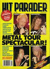 7/88 HIT PARADER magazine  JUDAS PRIEST  GUNS N' ROSES  Van Halen  AC/DC