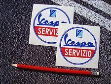 Vespa Servizio Vespa Pegatinas PIAGGIO VESPA LOGOTIPO Italia Mods mundo días