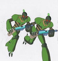 Vortech Undercover Conversion Squad Animation Cel +draw Matted M.A.S.K. A.T.O.M.