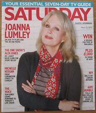 Joanna Lumley - Saturday magazine – 22 March 2014