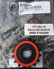 SILENT Pignone 16 Denti BMW S 1000 RR, s1000, hp4, gommata, Sprocket, Pignon NUOVO