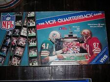"NFL, 1980's, ""The VCR Quarterback Game"", excellent condition"