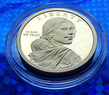 """USA 2011 S PROOF  Sacagawea """"Golden"""" Dollar, Excellent MIRRORS with HOLDER"""