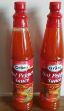 ( Pack of 2)Grace Hot Pepper Sauce 85ml Very Hot