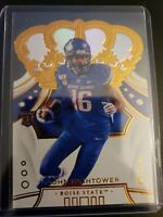 JOHN HIGHTOWER 2020 Chronicle Crown Royal Rookie Auto GOLD Parallel EAGLESSP RC