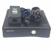 Microsoft Xbox 360 S Slim Console Model 1439 w/ 250GB HD ~ AC Adaptor & HDMI