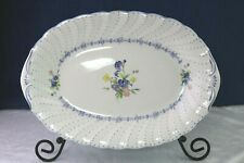 Nikko China BLUE PEONY Serving Platter 14 ""