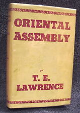 Lawrence, T. E. Oriental Assembly.  First Edition.
