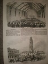 Boston election Corn Exchange and declaration 1856 prints ref AT