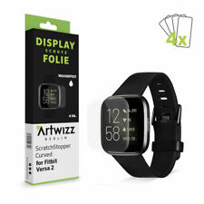Artwizz ScratchStopper Curved Display Schutz Folie (4er Pack) für Fitbit Versa 2
