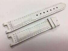 Cartier Pasha Mat White Alligator Watch Band Strap 15.40 x 14 mm - New