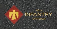 45th Infantry Division License Plate -LP253