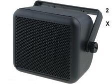 """4"""" Universal Speaker Box Enclosure for Car, Van, Motorhome , etc"""
