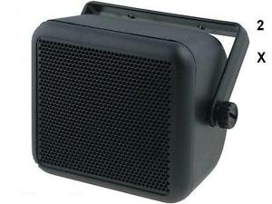 Universal Speaker Box Enclosure for Car, Van, Motorhome, 4""
