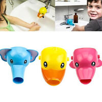 Cartoon Faucet Extender Sink Tap Extension Kids Baby Bathroom Children Hand Wash