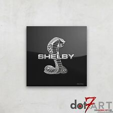 Shelby Badge Luxury Black Open Edition Print