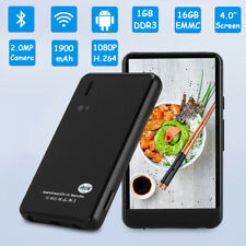 4.0 inch Touch Screen MP4 WiFi Android Bluetooth Music Video Player 16GB 1080P