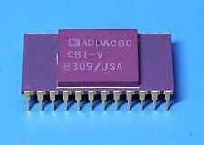 Analog Devices ADDAC80-CBI-V 12 Bit D/A Converter Gold Ceramic DIP24 Chip