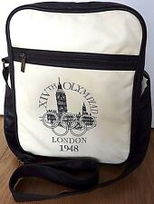 London 2012 Collection Leather Messenger Bag XIVth Olympiad London 1948