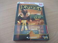 pc cd-rom la legende du pharaon + lunette 3D