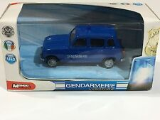 Renault Gendarmerie French Police 1:03 Diecast Metal Model Car Scale New