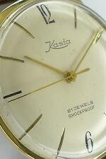 KASTA Double Herren Armbanduhr aus den 1950er Jahren ein wunderschöner Klassiker