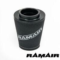 Ramair Performance Universal Induction Intake Custom Air Filter - 80mm ID OFFSET