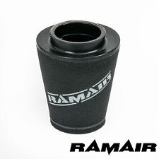 RAMAIR INDUCTION FOAM CONE AIR FILTER UNIVERSAL 80mm OFFSET NECK - 164mm TALL