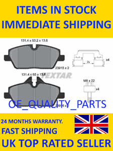 Brake Pads Set Front TEXT 2391508 for BMW i3