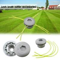 Alloy Strimmer Head Trimmer Heads String Set Grass Brush Accessory&4-line