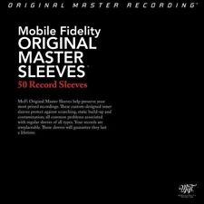 Pack of 50 ORIGINAL MASTER SLEEVES Vinyl Record LP MFSL Mobile Fidelity NEW