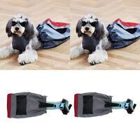 2x Pet Dog Puppy Drag Bag Walking Drag Bag for Paralyzed Pets Dog Breathable