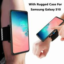 Running Armband Wristband For Samsung Galaxy S10 S10+ S10e With Rugged Case