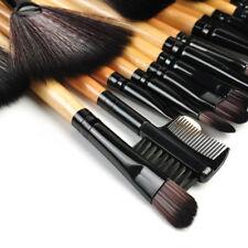 32pcs Portable Natural Cosmetic Eyebrow EyeShadow Makeup Brushes Tool Set Kit