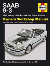 Haynes Workshop Manual SAAB 9-3 1998-2002 Petrol Diesel New Service & Repair