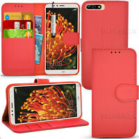 For Huawei Y6 2018 ATU-L11 Wallet Leather Case Flip Book Cover+Screen Film