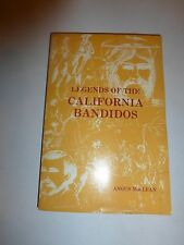 Legends Of The California Bandidos Signed By Author And Illustrator Pb 1977 238