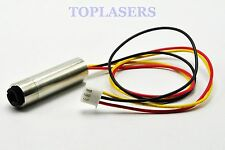 1240 Focusable 650nm 5mw Red Laser Dot Module Diode w/ TTL 15KHZ 5V